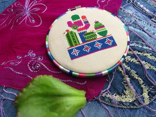 Lucky Star Stitches - Cactus