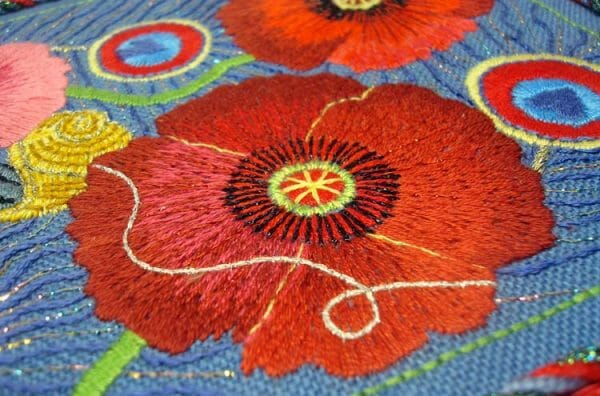 Take care with your stitches and threads—lay them smoothly, intentionally, positioned in place with your needle and fingers—to make your embroidery as beautiful as it can be. It's easier than you may think.
