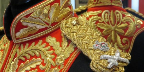 Replica Goldwork Uniform by Hand & Lock