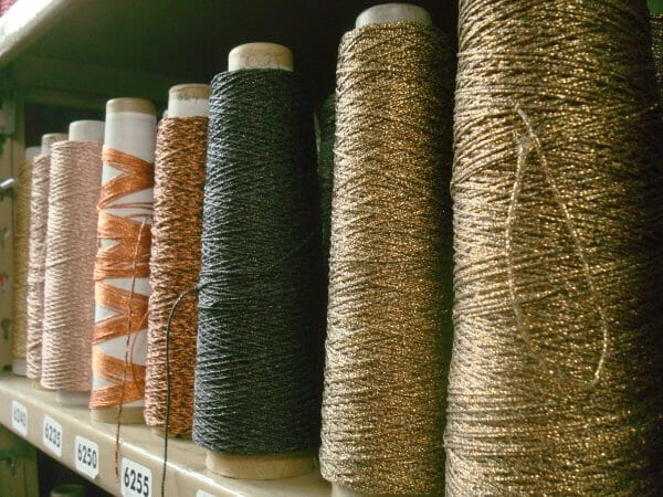 Kreinik now makes more than 200 colors in 10 different metallic thread sizes. Wouldn't it be nice to collect them all?!