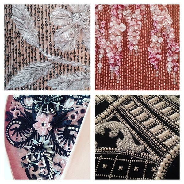 Embroidery details, Elena Savelyeva