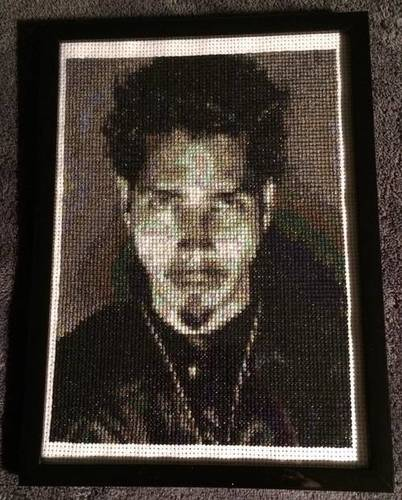 Krafty Karusu's Chris Cornell Cross Stitch