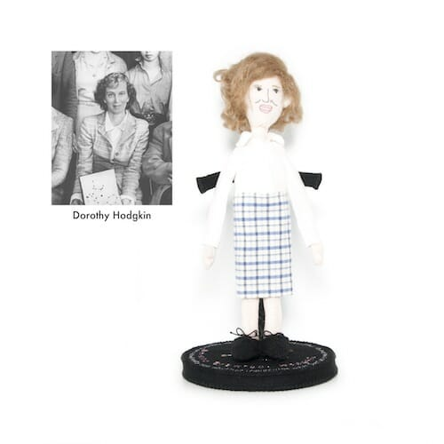 Plush Art Lab - Dorothy Hodgkin Doll