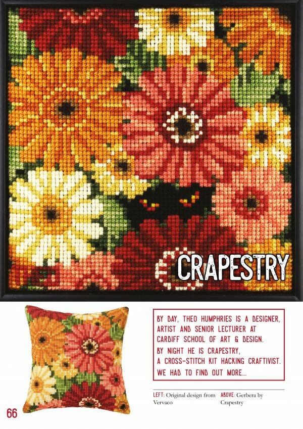 Crapestry Interview in XStitch Issue 1