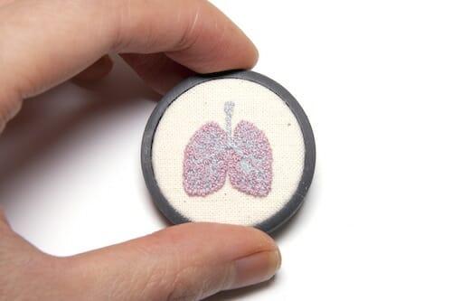 Plush Art Lab - Lung Pin
