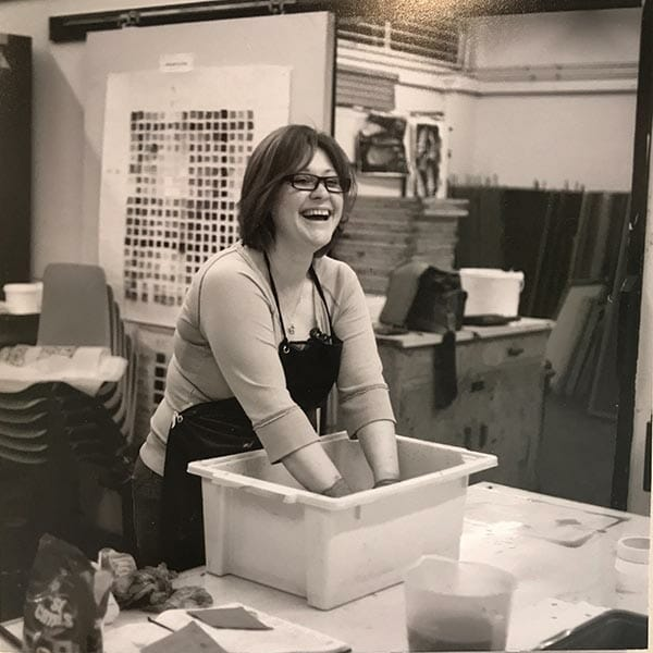Claire Edwards, fashion and textile artist