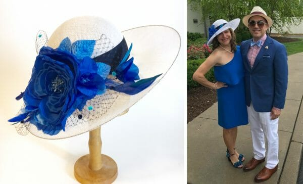 custom hat by Milli Starr