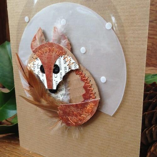 Thrift Design - Fox Card