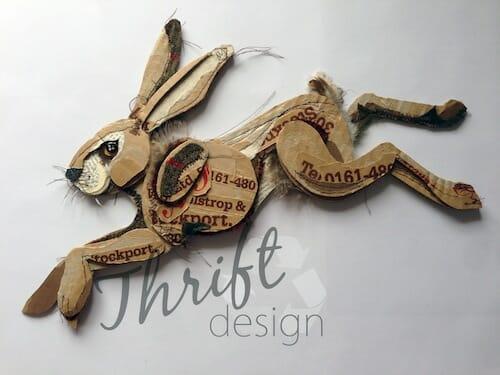 Thrift Design - Jumping Hare