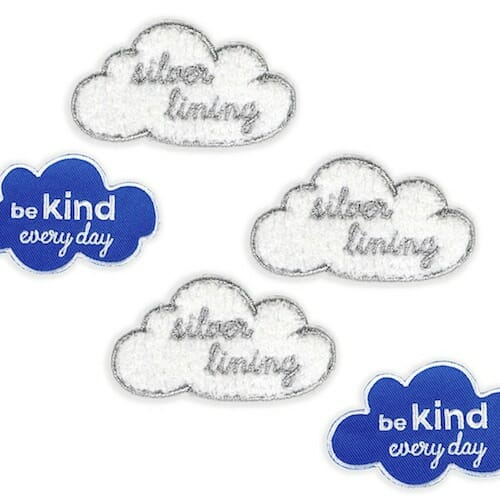 Auntie Mims - Silver Lining and Be Kind Everyday Patches