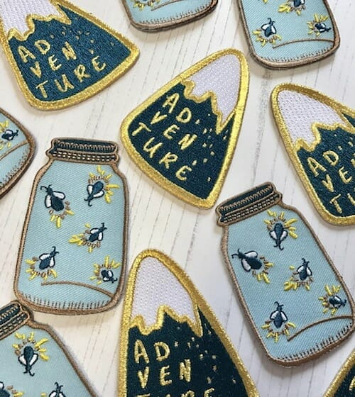 Auntie Mims - Fireflies and Adventure Patches
