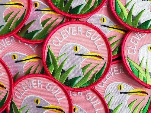 hello DODO - Clever Gull Patch