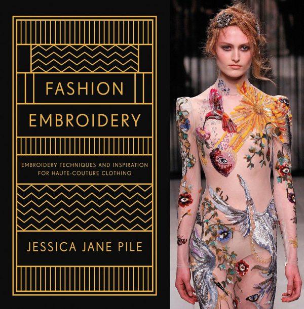 Jessica Pile fashion embroidery