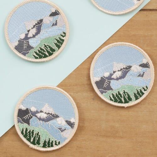 Little Paisley Designs - Mountain Patch