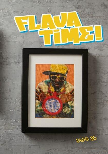 Ellen Schinderman's Flava Time Design for Issue 2