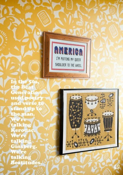 Ann's Orchard and Aubrey Longley Cook's designs for Issue 2