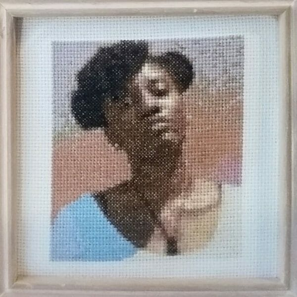Heather Rios - Kendriana Speaks - cross stitch