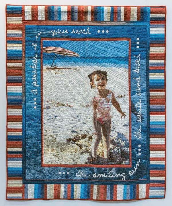 Julie Brandon and Valerie Schultz - Childhood Exhilaration - Quilt
