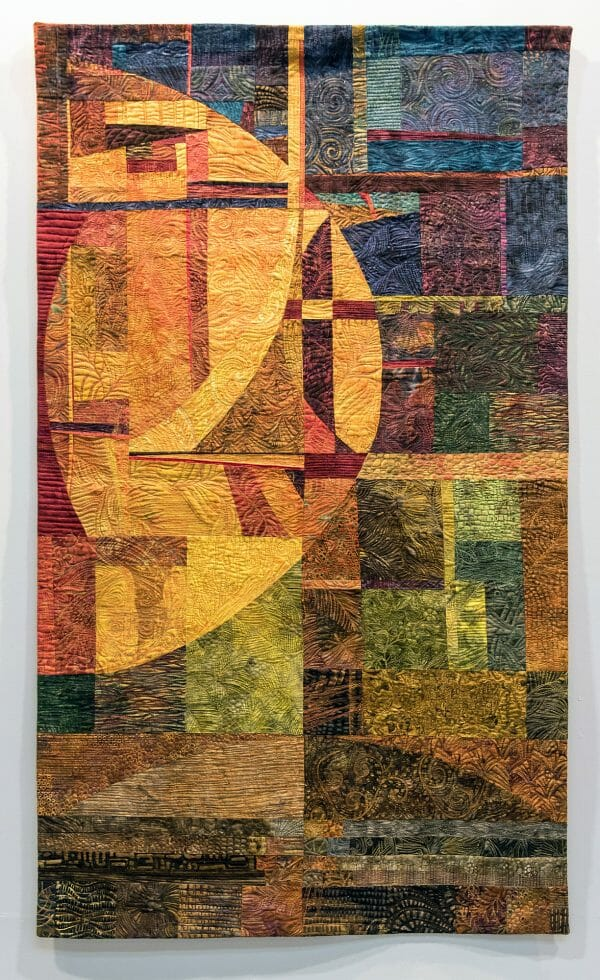 Laima Whitty - Harvest Moon - Quilt