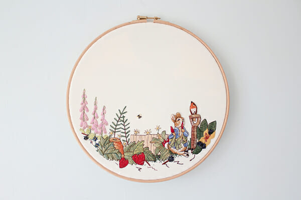 Peter Rabbit Scene - New Baby Comission 2018, by Charis Esther