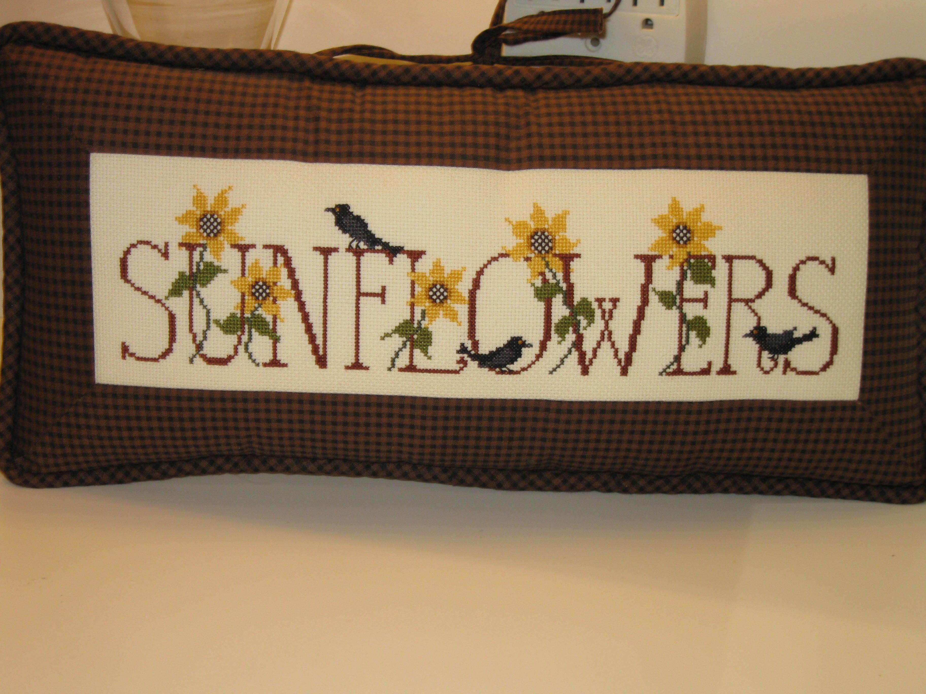 Sunflower Pillow-Debbie Monachella