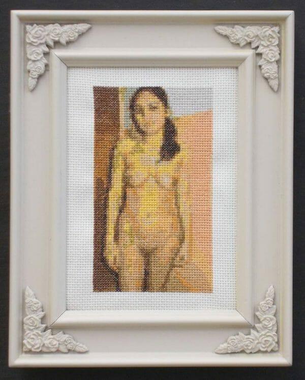 Heather Rios - Untitled - cross stitch