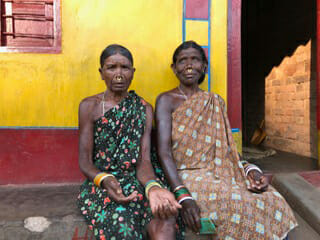 Sisters, Orissa village, Eat Your Heart Out Tours
