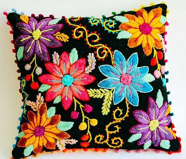 Cushion 2 by Paloma Alarcon