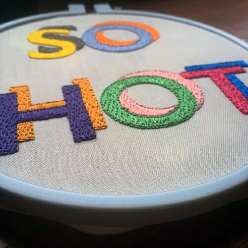 Modern Floss - So Hot Hoop