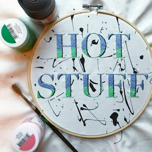 Modern Floss - Hot Stuff Hoop