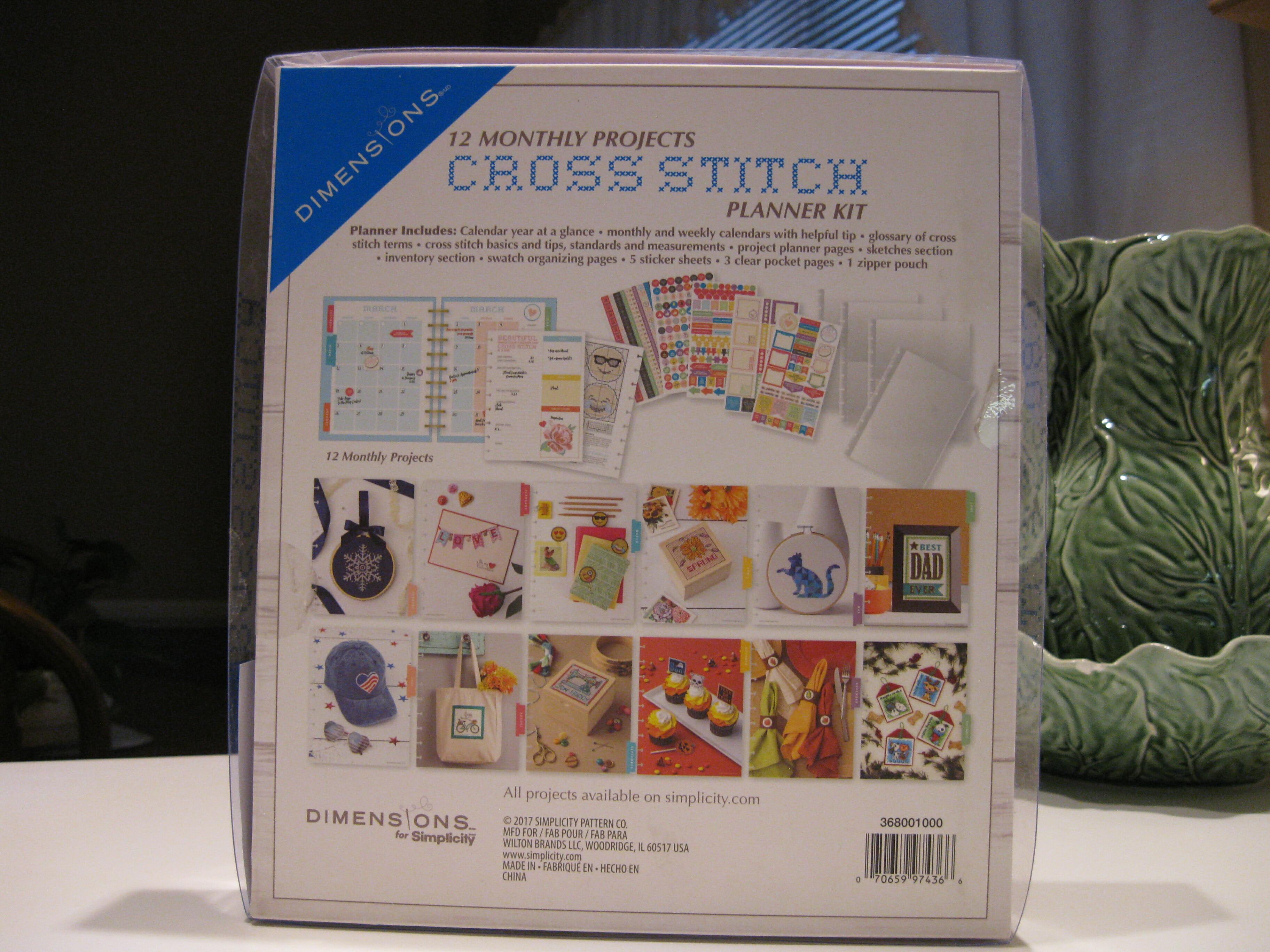 Cross Stitch Planner Details