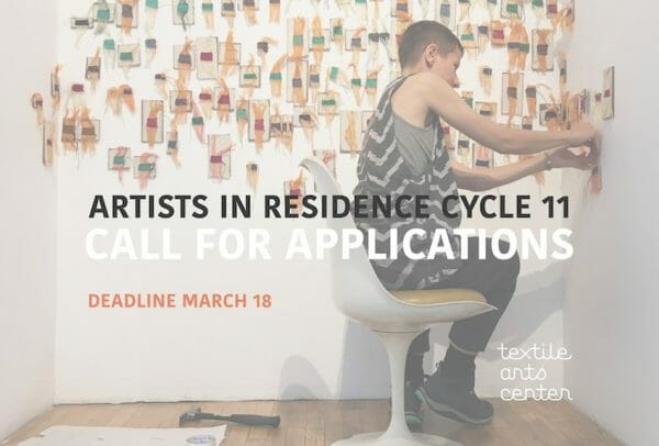 Textile Arts Center's Artist in Residence