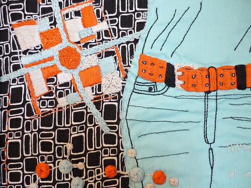 Suga Belt detail by Olisa Corcoran