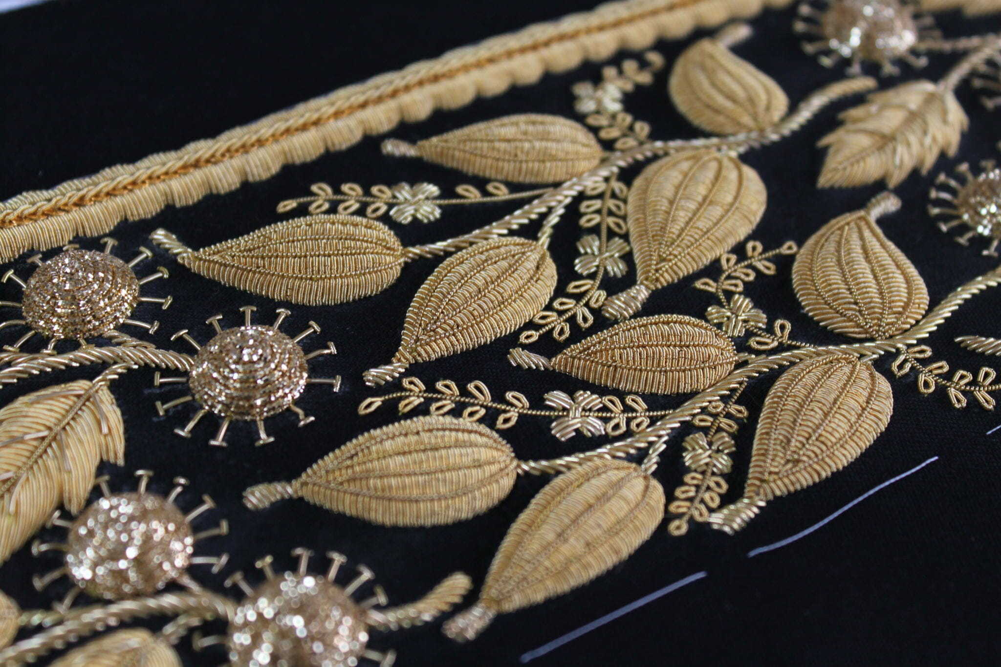 Hawthorne and Heaney Goldwork