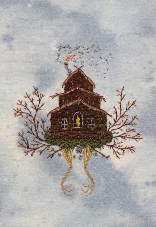 Adam Pritchett - Embroidery