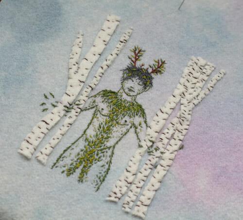 Adam Pritchett - Ghillie Dhu Embroidery