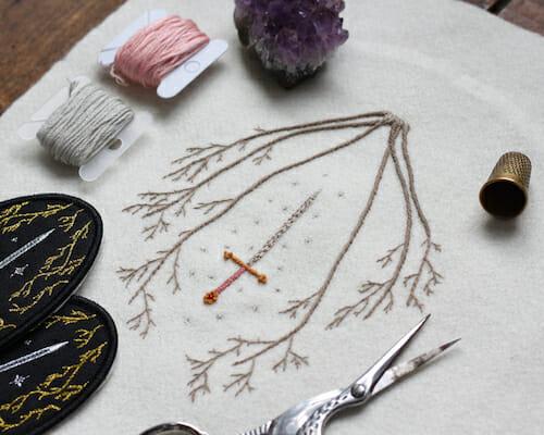 Adam Pritchett - Sword Embroidery