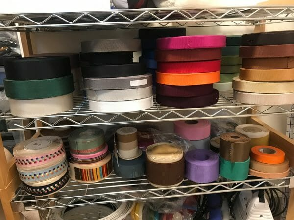 Millinery grosgrain ribbons in a variety of colors - new milliner essentials!