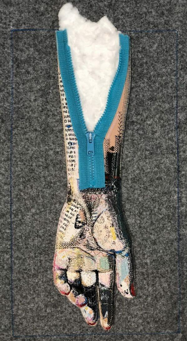 Alicja Kozłowska - Zombie - Art Quilt