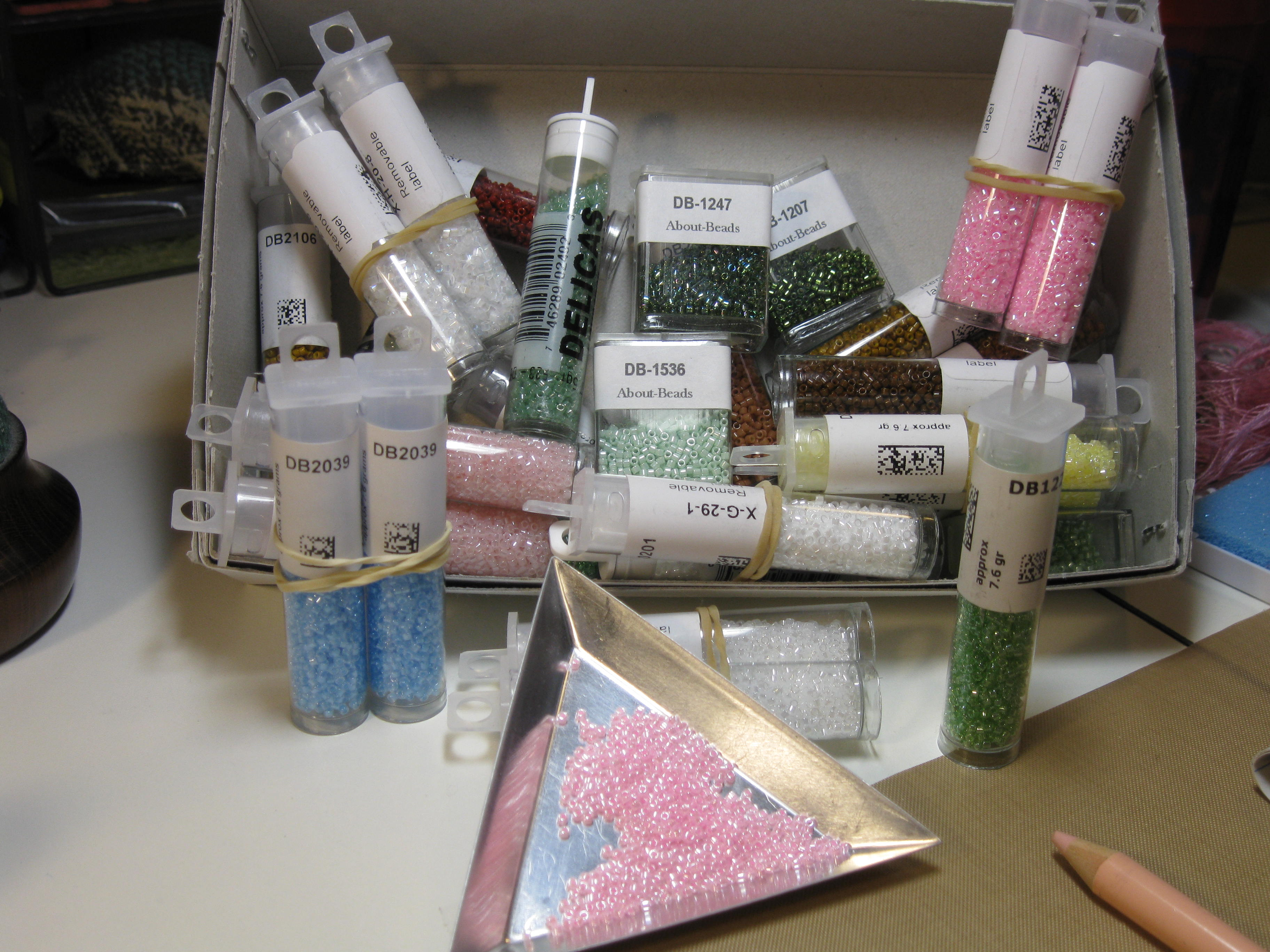 A Load of Miyuki Japanese Seed Beads
