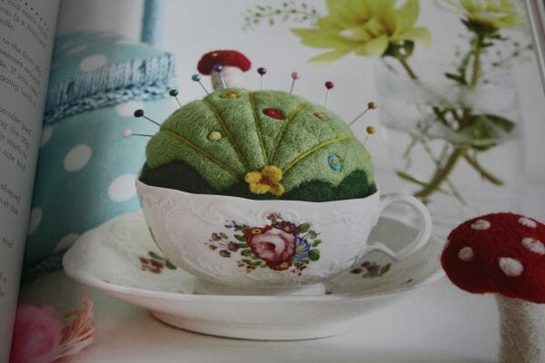 Cute tea time inspired felting