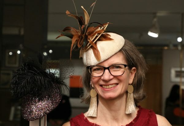 Milliner Sally Caswell