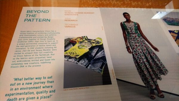 Beyond the pattern, cutting edge image for fashion outfits