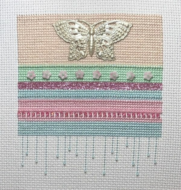 Completed Contemporary Spring Band Sampler