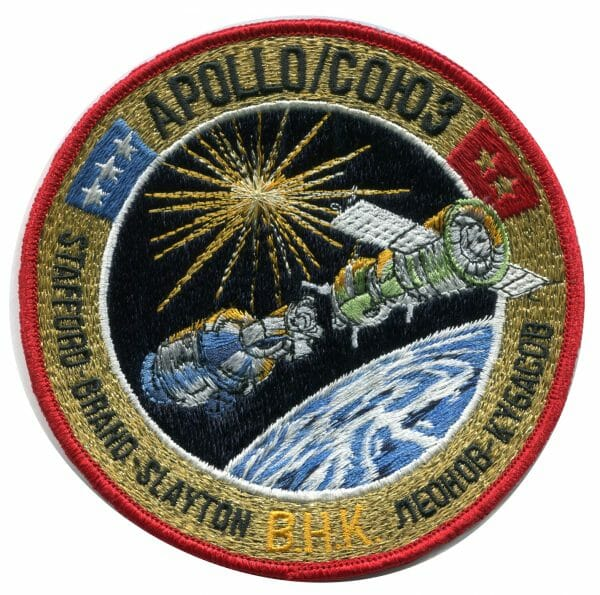 Apollo Soyuz Mission Emblem Patch