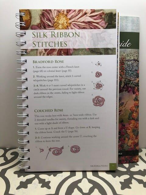 Judith Baker Montano's Essential Stitch Guide - Silk Ribbon Stitch