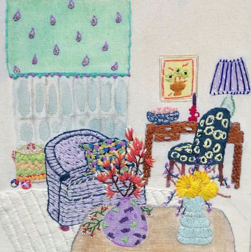 Yellow Tulip Crafts - Interior Embroidery