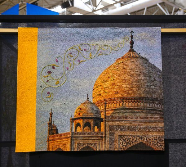 Festival of quilts 2019 work - Taj Mahal
