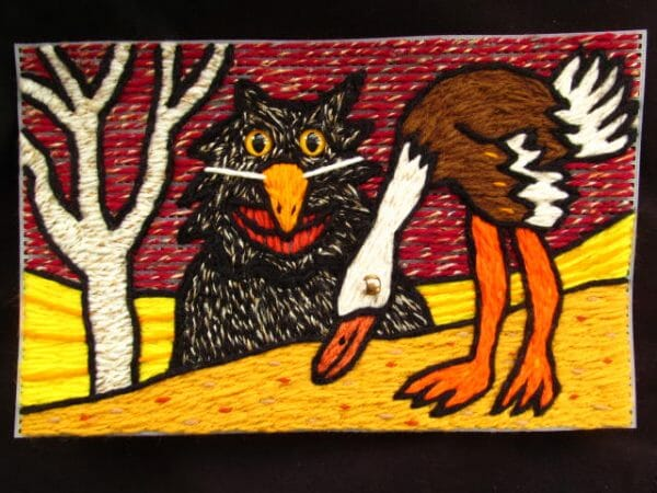 YarnArtist - Birch & Ostrich (2011)