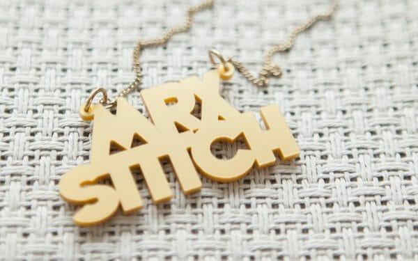 Mr X Stitch Necklace